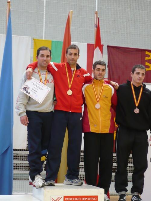 Sergio Calderón en campeón en -66kg