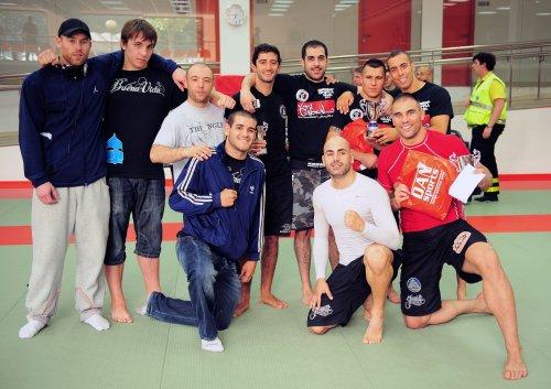 Equipo MMA BCN campeón