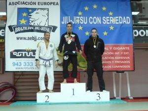 podio sergio absoluto bjj barcelona