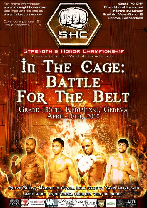 In the Cage: Battle for the Belt - Yan Cabral MMA Suiza